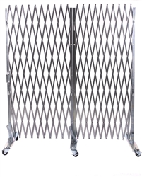 portable folding safety gates