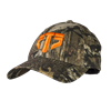 ETS Logo Hat, Camo with Orange Logo