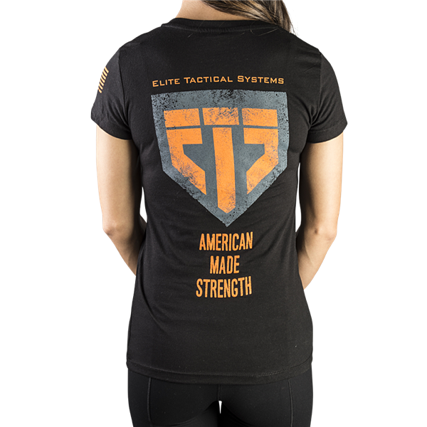 ETS Ladies Strength Tee Black