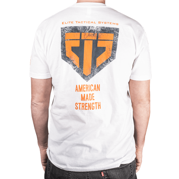 ETS Strength Tee - White