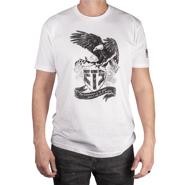 ETS Constitution Tee, White