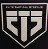 ETS White Window Decal