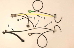 complete gas block hose kit on rEvo III mini/micro R219B *Buy rEvo Rebreathers at OceanEdge Outfitters 908-359-5468