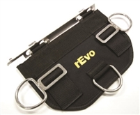 rEvo removable butt plate R229 *Buy rEvo Rebreathers at OceanEdge Outfitters 908-359-5468