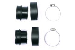 connector set for Draeger hoses to rEvo III R552 housing: insert (2X)+screw (2X)+ SS hose clamp (2X) R539 *Buy rEvo Rebreathers at OceanEdge Outfitters 908-359-5468