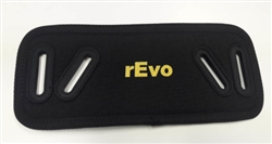 Padded Backplate Protection Bottom Included Embroidered Logo R546B *Buy rEvo Rebreathers at OceanEdge Outfitters 908-359-5468