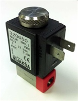 Solenoid Jaksa with inline filter R554A *Buy rEvo Rebreathers at OceanEdge Outfitters 908-359-5468