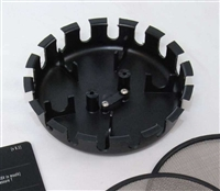 sensor tray for 5 cells, complete, injection molded R559 *Buy rEvo Rebreathers at OceanEdge Outfitters 908-359-5468