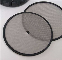 scrubber mesh with rubber edge, injection moulded  *Buy rEvo Rebreathers at OceanEdge Outfitters 908-359-5468