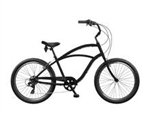 Tuesday Cycles August 7 Mens Cruiser Bike Satin Black 2017 - March Clearance Sale Now at Bikecraze.com!