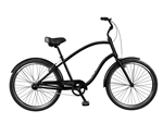 Tuesday Cycles March 1 Mens Comfort Cruiser Bike Black 2017 - April Clearance Sale Now at Bikecraze.com!