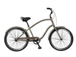 Tuesday Cycles March 1 Mens Comfort Cruiser Bike Dark Sand 2017 - April Clearance Sale Now at Bikecraze.com!