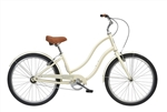 Tuesday Cycles March 1 LS Ladies Comfort Step Thru Bike Latte 2017 - April Clearance Sale Now at Bikecraze.com!