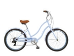 Tuesday Cycles March 7 LS Ladies Step Thru Bike Periwinkle 2017 - April Clearance Sale Now at Bikecraze.com!