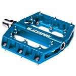 Blackspire Sub4 Enduro Mountain Bike Pedals Blue - Hot June Sale Now at Bikecraze.com