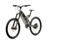 Stealth P7 Electric Commuter Mountain Bike Camo Grey 2018 - On Sale NOW at Bikecraze.com