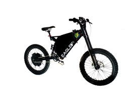 CAB Eagle 10kw High Performance Electric Mountain Bike - On Sale NOW at Bikecraze.com