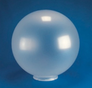 "16"" Smooth Acrylic Sphere- Fitter Neck"