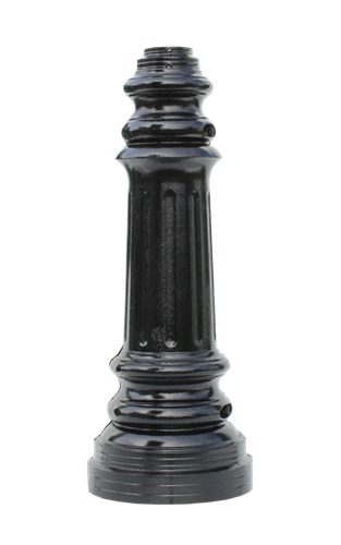 "Colonial - Cast Aluminum Post Base (fits 3"")"