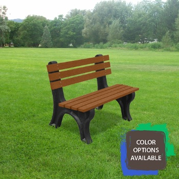 4ft Economizer Recycled Park Bench