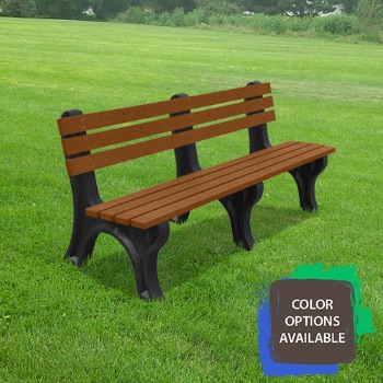 6ft Economizer Recycled Park Bench