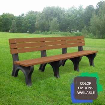 8ft Economizer Recycled Park Bench