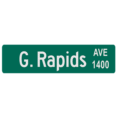"36"" x 9"" High Intensity Prismatic Street Sign Blade"