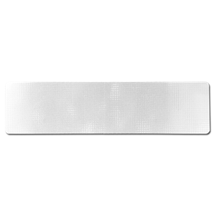 "36"" x 9"" BLANK High Intensity Prismatic Street Sign Blade"