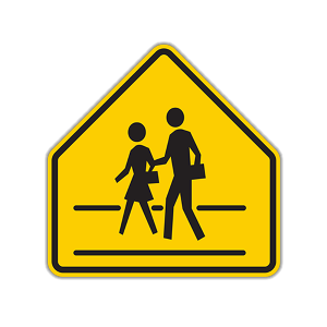 School Road Crossing
