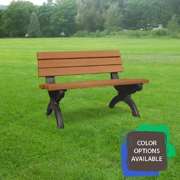 4ft Monarque Memorial Bench
