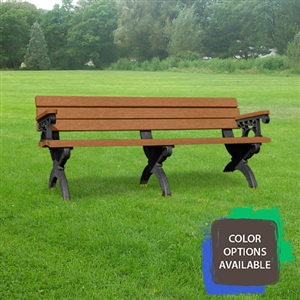 6ft Monarque Memorial Bench with arms