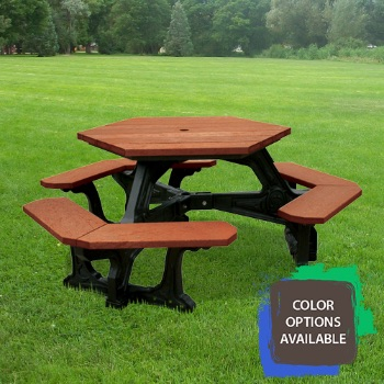 Plaza Recycled Picnic Table