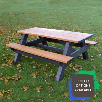Standard 6ft Recycled Picnic Table