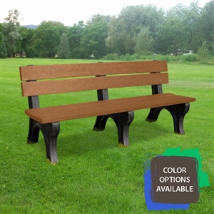 6ft Traditional Memorial Bench