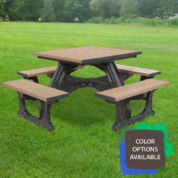 Town Square Recycled Picnic Table
