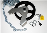 "Direct Drive Chain Hoist 2000D for 1"" Shaft"