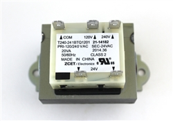 Part # 21-14182, LiftMaster Garage Door Opener Transformer 120V/ 240V