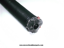 "garage door torsion spring .250 X 1.75"" left wound"