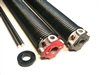 "garage door torsion spring .262 X 2 1/4"" pair, left wound and right wound springs"