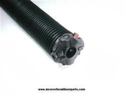 "Pair of 273 X 2/"" X All Lengths Garage Door Torsion Springs with Winding Bars"