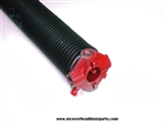 "garage door torsion spring .273 X 1 3/4"" right wound, select length"