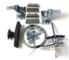 Part # 311955, Wayne Dalton Garage Door Keyed-In-Handle Auto Latch ECR Lock Kit