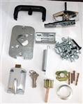Part # 311965, Wayne Dalton Garage Door Keyed-In-Handle Auto Latch ECR Lock Kit