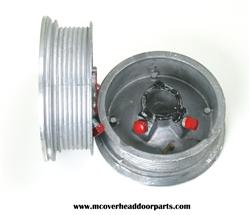 Garage Door Cable Drums For 7 And 8 High Doors Standard