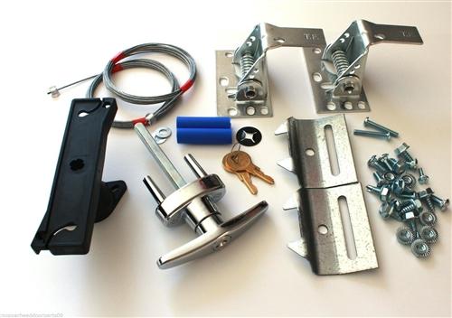 Deluxe Garage Door Lock kit w2 Keys Universal