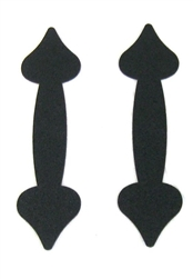 Decorative Garage Door Carriage House Handles-Magnetic