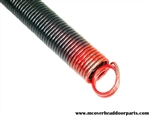 extension springs for 7' high door, 50#
