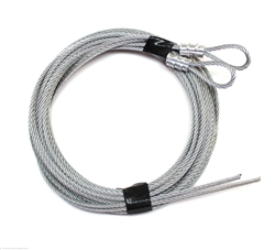 Garage Door Safety Cables for Extension Spring Door