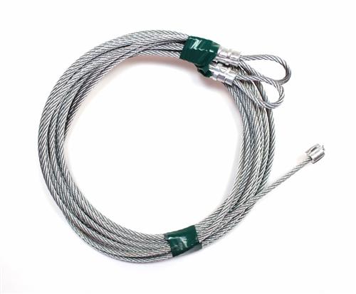 Clopay,Wayne Dalton,CHI Garage Door Cables for Torsion Spring 11 Long Door 150