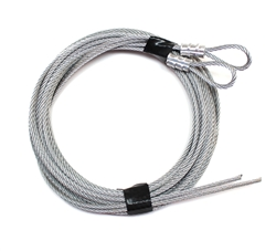 Garage Door Lift Cables for Extension Spring Doors